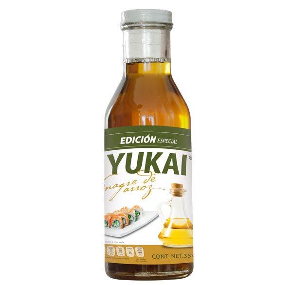 Vinagre de Arroz - YUKAI® - Productos Orientales