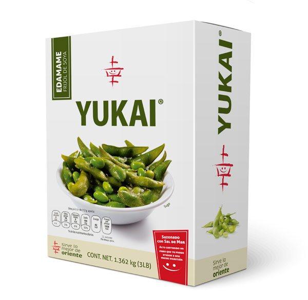Edamame (frijol de soya) - YUKAI® - Productos Orientales