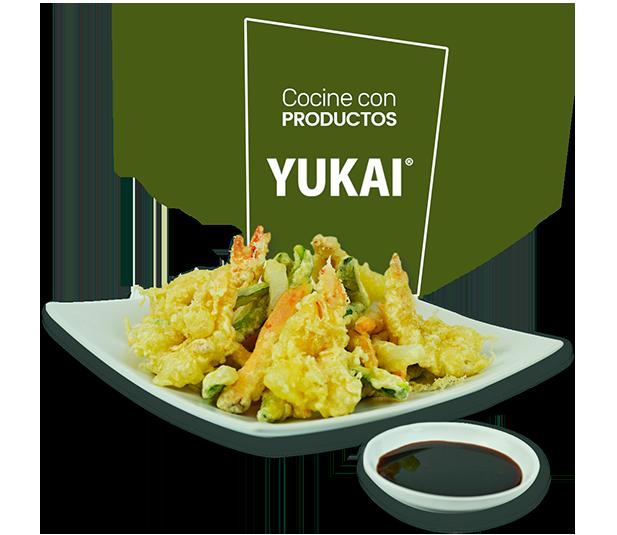 Plato de Verduras Tempura YUKAI®
