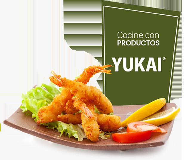 Camarones con Panko YUKAI®